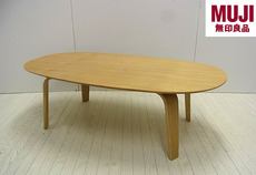 muji plywood low table 1