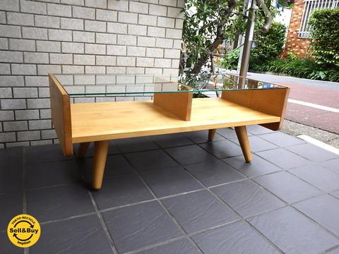 モモナチュラルローテーブル-3